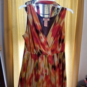 Women's Candie's Water Color Dress